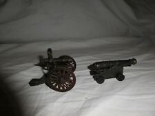 Vintage Metal Cannon Pencil Sharpeners