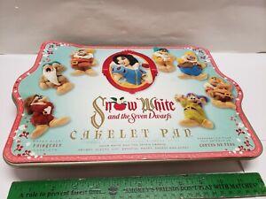 WILLIAMS SONOMA NORDICWARE SNOW WHITE & THE SEVEN DWARFS CAKELET PAN DISNEY