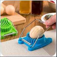New Stainless Steel Boiled Egg Slicer Cutter Mushroom Tomato Kitchen Chopper Mほ