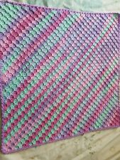 New handmade crochet baby blanket