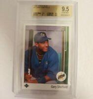 Gary Sheffield Rookie Card 1989 Upper Deck #13 BGS 9.5