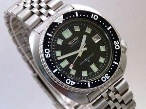 Seiko 6309-7040 Turtle Black Apocalypse Now Capt Willard Divers Automatic Watch