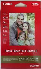 Canon Pp-201 Glossy 10x15 50 Blatt Paket - Fotopapier