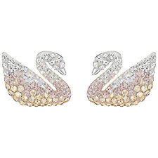Swarovski 5215037 Iconic Swan Pearl Gradient Earrings 2.5cm RRP $149
