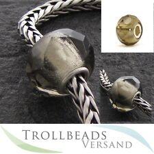 TROLLBEADS Glasbeads Graues Prisma - Grey Prism 60183 - RETIRED