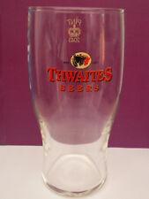Thwaites beer pint glass Pint Crown  Lancashire