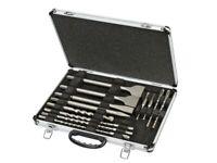 DEWALT DT9670 SDS Plus Drill & Chisel Set In Aluminium Case 15 Piece DEWDT9670QZ