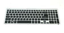 New listing Acer Aspire V5-571 Genuine Laptop Us Keyboard Backlit Nsk-R3Kbw Nki171707X