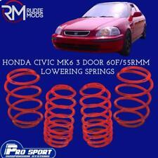 ProSport Lowering Springs for Honda Civic Mk6 3 Door Authorised Dealer 120210