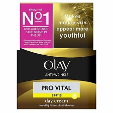 Olay Antiarrugas Crema de Día Pro Vital Anti-edad Hidratante SPF15 Madura 50ml