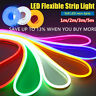DC 12V SMD2835 Flexible LED Strip Waterproof Neon Lights Silicone Tube 1m-5m.
