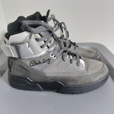 Patrick Ewing Athletics 33 Men's Size 8.5 Shoes Gray/Black High Top Sneakers
