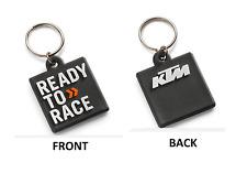 BRAND NEW KTM LOGO RUBBER KEYHOLDER KEYCHAIN 3PW1771400