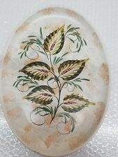 "Lovely Denby Stoneware Glyn Colledge Hand Painted 12.5"" Platter"