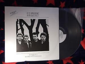 "U2  ""Pride b/w Boomerang 1 /Boomerang 2 / 4th of July"" AUS 12"" single"