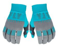 Fly Racing F-16 Gloves Grey  Blue Size 7 Men's Extra Small  XS Women's M