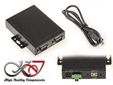 Konverter RS232 für USB - 2 Anschlüsse Independants - Industrie - Rackabl