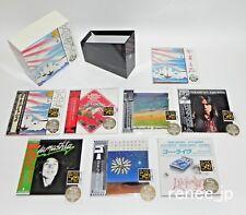 STOMU YAMASHTA / JAPAN Mini LP SHM-CD x 7 titles + 1 Sleeve + PROMO BOX Set!!