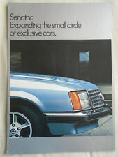 Opel Senator brochure Jul 1978
