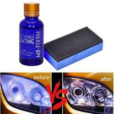 Car Scratch Repair Nano Coating Auto Headlight Polishing Fluid Restoration Kits