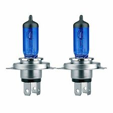 kit 2 lampadine blu potenziate 4500K tipo H4 12V/60-55W SIMONI RACING