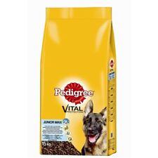 Pedigree Junior Maxi Huhn & Reis | 15kg Welpenfutter, Junghundefutter