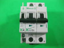 Moeller 2 Poles Circuit Breaker FAZ-C3/2 + ZP-IHK -- Used --