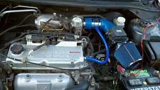 BCP BLUE 02-07 Mitsubishi Lancer 2.0L L4 Short Ram Air Intake + Filter