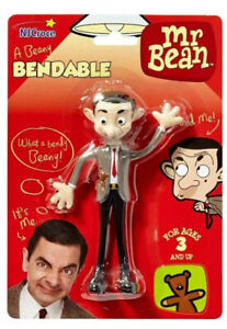 Mr Bean Bendable Toy Poseable Flexible Figure Licensed Product by Ty UK Ltd