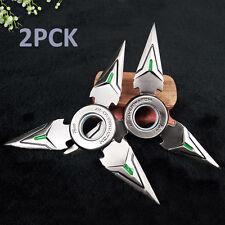 2Pcs Metal  OW Overwatch Hand Spinner EDC Bearing Fidget Genji Toy