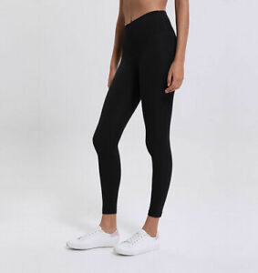 "new auth lululemon black 25""  align high rise yoga leggings  usa 2!"