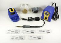 HAKKO FX888D-23BY SOLDERING STATION W/ 5 Tips:  T18-D08, D12, D24, D32, S3