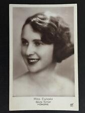 carte postale : miss Hongrie Bozsi Simon - concours miss Europa 1929