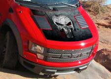 Punisher on metal texture Graphics decal sticker (fits to Raptor F150 2010-14)