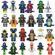 LOT 24 FIGURINES NINJAGO NINJA SUPER HERO PERSONNAGES