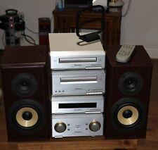 Sistema de apilamiento Midi Technics Amplificador SE-HD350 Cd Cassette sintonizador altavoces 60W