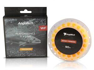 AnglaTech WF Performance Fly Line/ WF6F / Freshwater / WF-6-F / 90ft, 27m / New