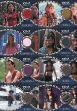 Xena Dangerous Liaisons Costume Card Set 11 Cards