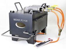 BECMA tripla bruciatore Gas Forge, stufa a gas fino a 1350°C, GFR.6 neo III