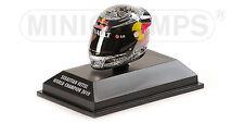 Minichamps Arai Helm Helmet Sebastian Vettel World Champion 2010, 1:8 Formel 1
