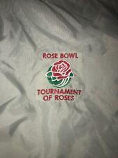 Vintage Rose Bowl Tournament Of Roses Adult Windbreaker Jacket Zip Up Grey Large