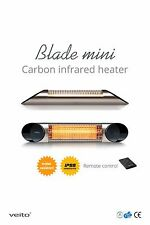 VEITO BLADE MINI Infrared Patio Heater (IP55) Indoor and Outdoor Silver