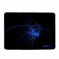 "LUXON brand Gaming Mouse Pad 10 x 8 "" BLACK (PACK OF 2)"
