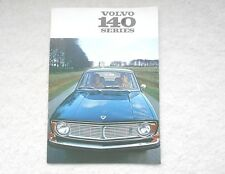 1970 Volvo 140 Series Brochure Canadian Market 144 142 145 Free Shipping