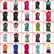 2020 Summer Cycling Jersey Women Bike Sleeveless Tops Bicycle vest Racing Shirts
