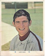 Larry Bowa 8 x 10 picture (1971) - Philadelphia Phillies official MLB souvenir
