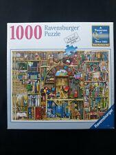 1000 piece Ravensburger Puzzle No. 193141 The Bizarre Bookshop No. 2 Complete
