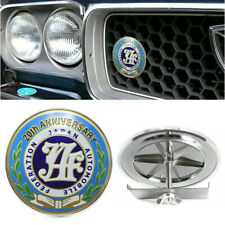 Japan Automobile Federation JAF 20th Anniversary Car Front Grilles Emblem Badge