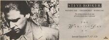 28/7/90 Pgn22 Advert: Steve Booker the Wedding Day E.p Debut Release 4x11