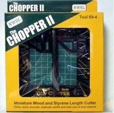 NWSL NorthWest Short Line The Chopper II Miniature Wood & Styrene Cutter Tool